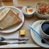 竹の家 - 料理写真:モーニングセット420円