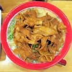 かぐら - 肉バカラーメン¥500