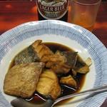 江戸川食堂 - 看板料理のたら煮。
