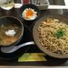 麺や 五山 - 料理写真:つけ麺二段仕込み(自家製玉子かけごはん付き)