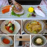 北国グランドホテル - 提供料理一覧。北国グランドホテル(北海道利尻島)食彩品館.jp撮影