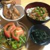 紀八 - 料理写真:お通し!4品