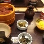 和食さと - 料理写真:ひつまむし全体図