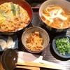 そば処やま本 - 料理写真:メニューアレンジ『ヒレカツ丼&ミニうどん』1200円