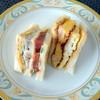 チャウ - 料理写真:クラブハウスローストチキン、チャウレットS(海老入り厚焼き玉子)