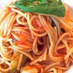 53716622 - ナスとモッツァレラのトマトソース♪
