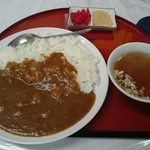 かさや - 料理写真:カレー650円は他のメニューに比べ割高