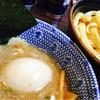 つけ麺 岩 - 料理写真:味玉つけ麺(平打ち麺並)