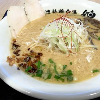 らーめん錦 - 料理写真:濃熟鶏白湯 吟上ラーメン醤油864円