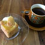 NAGASAWA COFFEE - パイナップルケーキとケニア