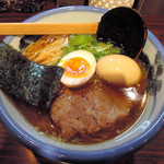 53728938 - 醤油らーめん+煮玉子