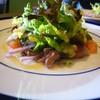 ボン ガルフォ - 料理写真:前菜は鮪と蛍烏賊のカルパッチョ