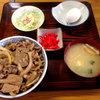 なみき食堂 - 料理写真:牛丼定食750円