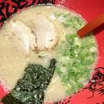 ラー麺 ずんどう屋 - 元味らーめん 750円