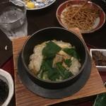 go-en - 穴子と三つ葉の釜飯