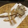 鰯組 - 料理写真:鰯の骨せんべい2