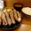 とんかつ 一 - 料理写真:ゲタとんかつ¥600円