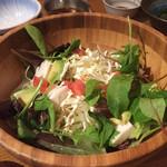 島ごはん - ジーマーミ豆腐サラダ