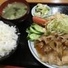 三明歓 - 料理写真:生姜焼き定食ライス大盛り