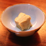 燗酒嘉肴 壺中 - 味噌漬け豆腐