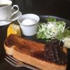 Cafe&Dining Karen - 料理写真:ホットコーヒー400円と小倉トーストセット