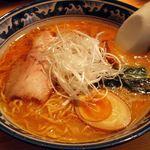 麺屋 田中商店 - 酒蔵みそラーメン;私の好みより少し味濃いめかな(^^;)ゞ  @2010/07/31
