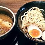 つぼや - 【特濃つけ麺 (並) + 味玉】¥780 + ¥100