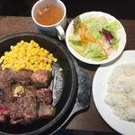 いきなりステーキ - (H28.5)ワイルドステーキランチ