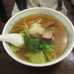 ゴマ - 湯麺(トンミン)480円+セット200円(チャーシュー、メンマ、青菜)
