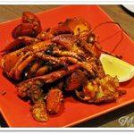 カリメロ - 料理写真:1日限定5食! 活オマール海老のぶつ切りソテー