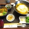 手打ちうどん 団平 - 料理写真:ひやかけうどん+冷しカツ茶漬