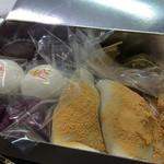 中村軒 - 超有名な麦代餅 桜の葛餡子もちの香りが素晴らしい