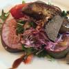 レストランカズラベ - 料理写真:フォアグラとイチジクのサラダ
