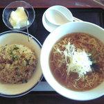 王府井 - ラーメンと炒飯セット ¥1050.-
