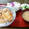 かずのや食堂 - 料理写真:焼肉丼ごはん大盛り