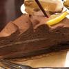 ア・ラ・カンパーニュ - 料理写真:名前はわかりませんが、チョコのタルト  550円税別