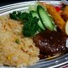 みのり食堂本店 - 料理写真:ハンバーグセット テイクアウト
