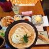 麺喰 - 料理写真:ざるうどん&とり天セット  ちくタコ天ハーフ