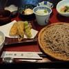 宮の蕎麦 兎屋 - 料理写真:そば御膳(1300円)