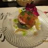 アンティカ トラットリア ダル ピラータ - 料理写真:湯ヶ島産アマゴの色とりどりサラダ