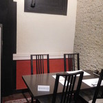 八十八 - 金庫室前のテーブル席