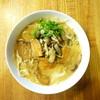 小鉄中 - 料理写真:キノコの旨味たっぷりのチャーシュー麺