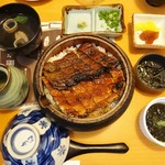 こころ - 料理写真:こころ名物 ひつまぶし 2,580円(税込)。2016.07.17