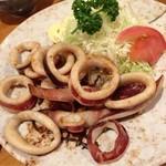 三貴 - 料理写真:イカバター焼き