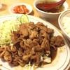 留軒 - 料理写真:焼肉定食 ¥700