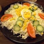 筑前屋 - サラダ(レギュラーサイズ)