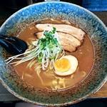 自己流ラーメン綿麺 - 【和風とんこつ】¥750