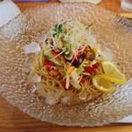 つけ麺 たつ介 - 1日限定5食 冷やし中華 700円