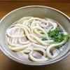 村上 - 料理写真:かけうどん(*´д`*)200円