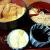 やぶそば - 料理写真:『カツ丼セット』¥900-
